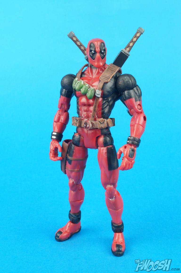 Toy biz marvel legends deadpool review the fwoosh for Dead pool show in jaipur