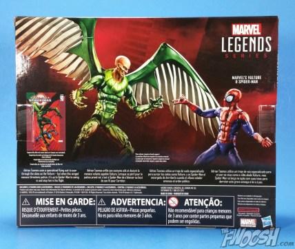 Hasbro Marvel Legends Ultimate Spider-Man and Vulture 2 Pack Package 03