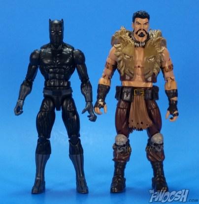 Hasbro Marvel Legends Black Panther Walmart Exclusive Comparison 02