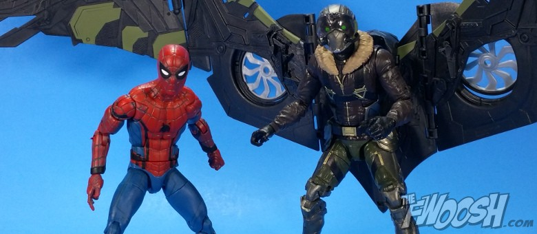 Hasbro: Spider-Man Homecoming Legends Stark Tech Spidey and
