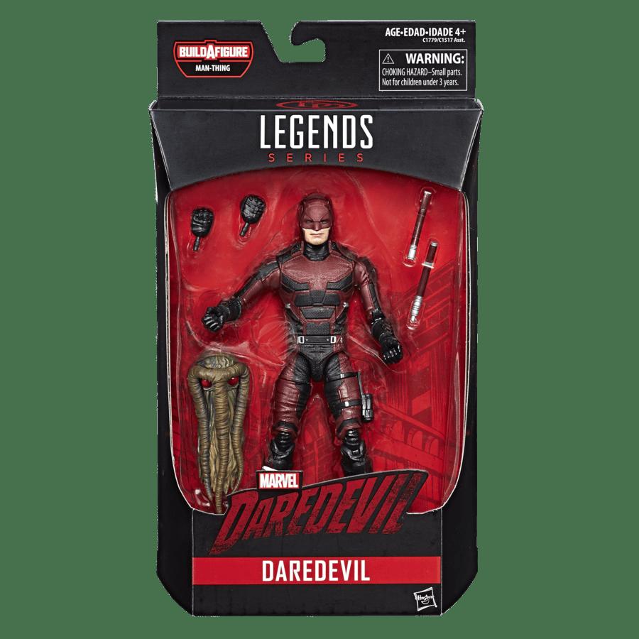 "Marvel Legends 6/"" inch Build a Figure BAF Netflix Man-Thing head from daredevil"