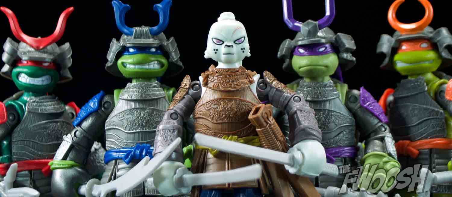 Playmates Teenage Mutant Ninja Turtles Samurai Turtles And Usagi