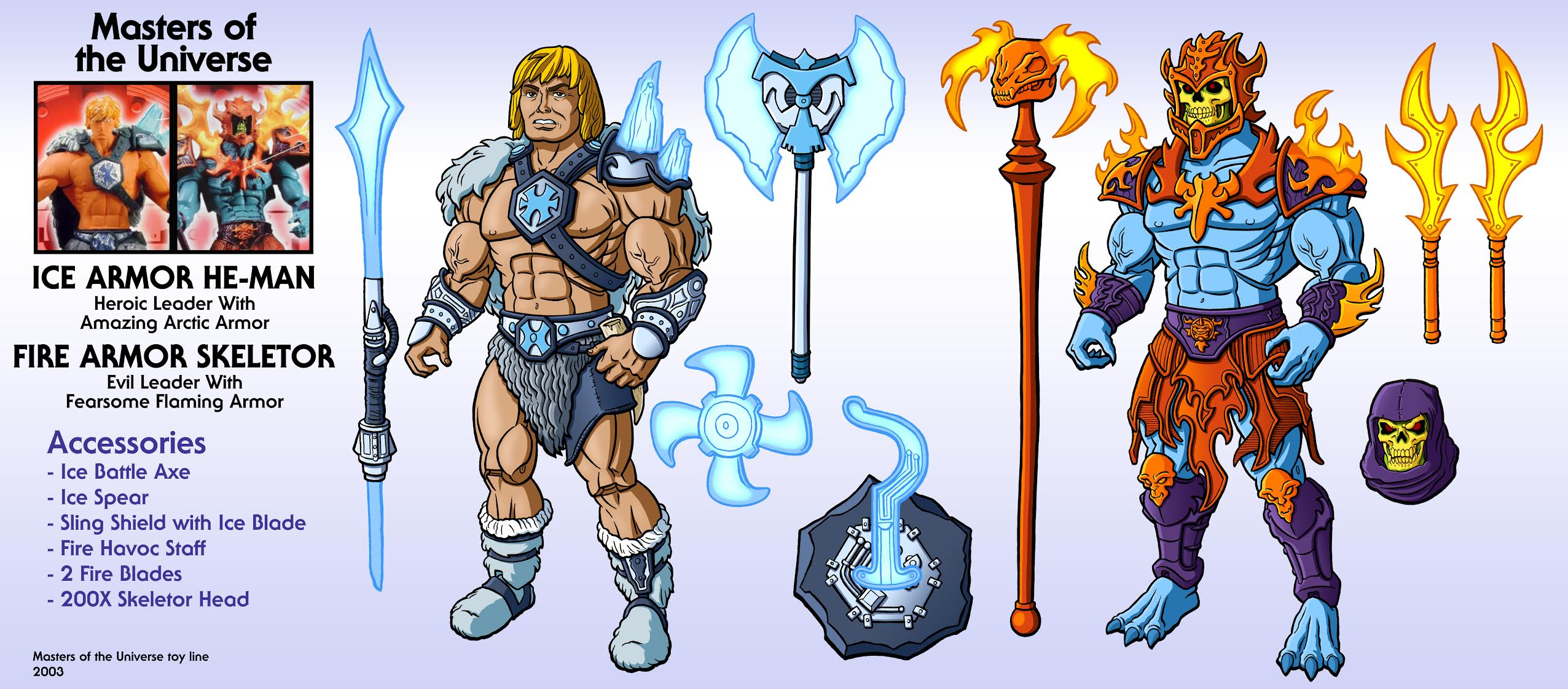 CASTLE GRAYSKULL Long Axe MOTU HE-Man And The Masters of the Universe Weapon
