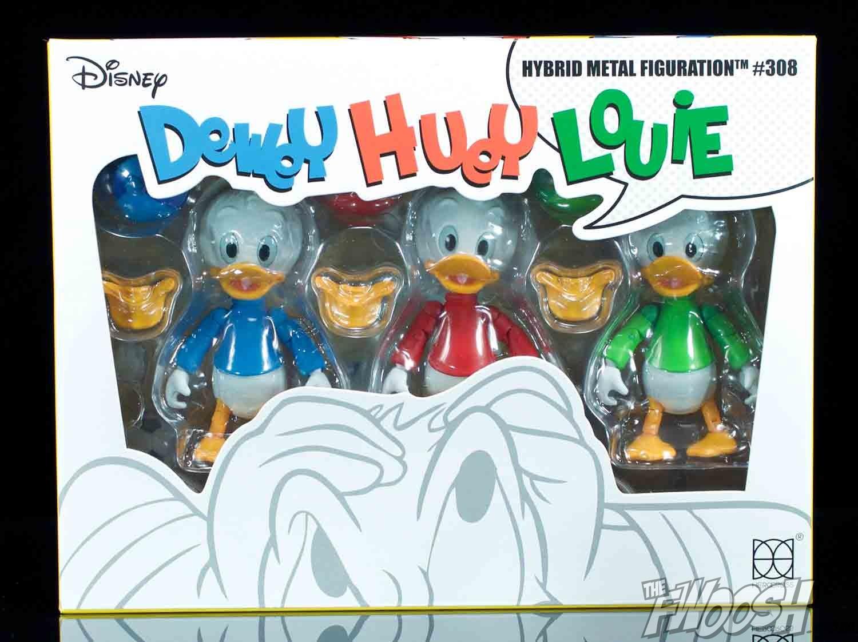 herocross disney hybrid metal figuration huey dewey and louie