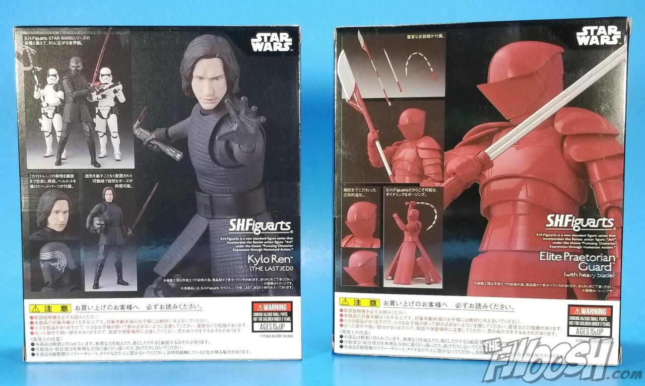 Last Jedi /& Heavy Blade /& Droid BB-8 Bandai NEW Figuarts Set Kylo Ren SH S.H