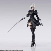 Square Enix BRING ARTS NieR Automata 2B Machine 2 Figure Set Promo 05