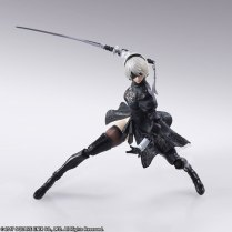 Square Enix BRING ARTS NieR Automata 2B Machine 2 Figure Set Promo 06