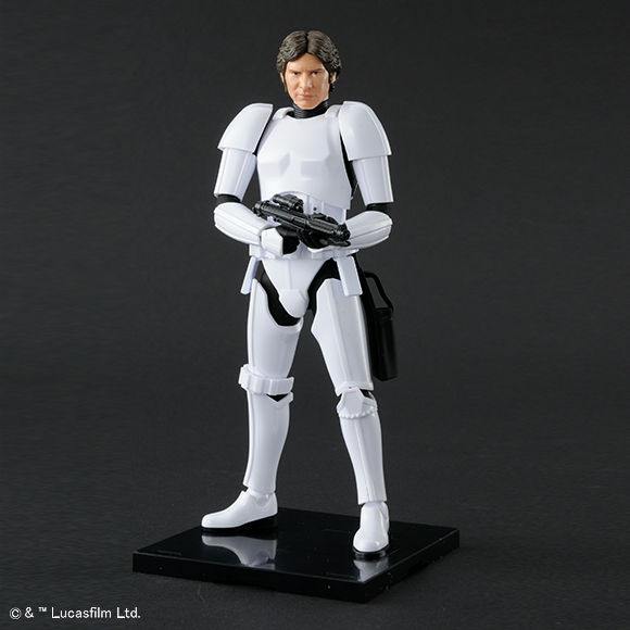 Bandai Star Wars A New Hope Han Solo Stormtrooper Model Kit Promo 01