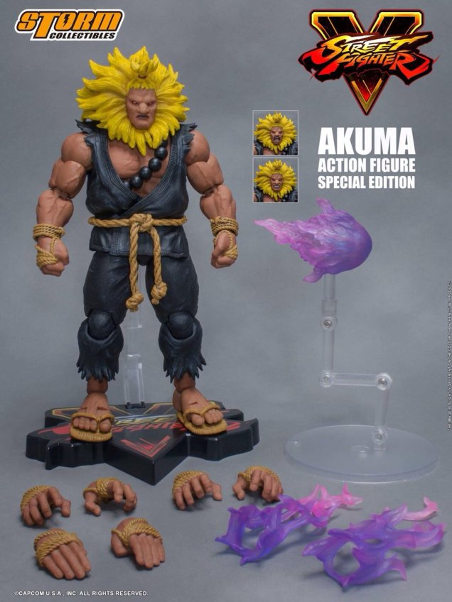 Storm Collectibles Street Fighter Akuma Special Edition 01