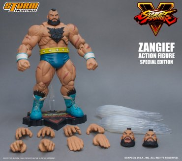 Storm Collectibles Street Fighter Zangief Special Edition 01