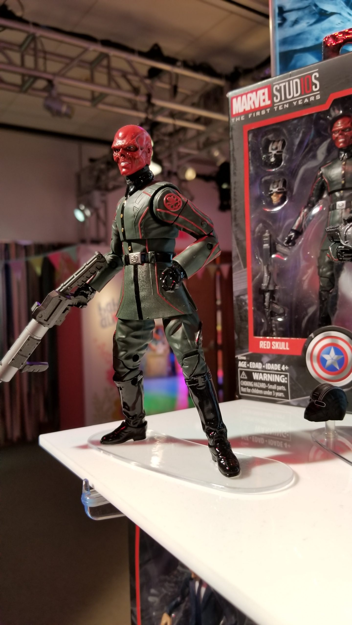 Red Skull Marvel Studios First 10 Years Legends Captain America Series