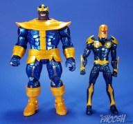 Hasbro Marvel Legends Avengers Thanos Walmart Exclusive Comparison 01