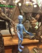 Creatureplica First Look Alien Grey at Horror Hound Jean St Jean 01