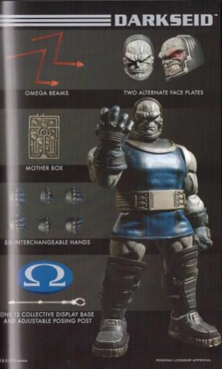 Mezco Toy Fair Catalog One12 Collective Darkseid 02