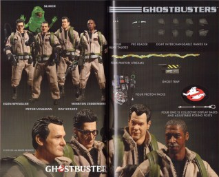 Mezco Toy Fair Catalog One12 Collective Ghostbusters 01