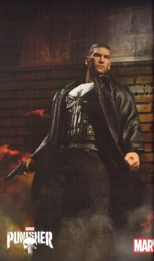 Mezco Toy Fair Catalog One12 Collective Netflix Punisher 01