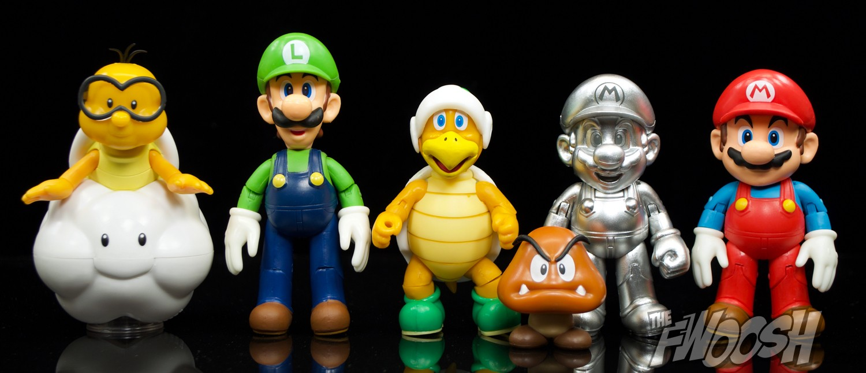 Jakks Pacific World Of Nintendo Hammer Bro And Metal Mario The