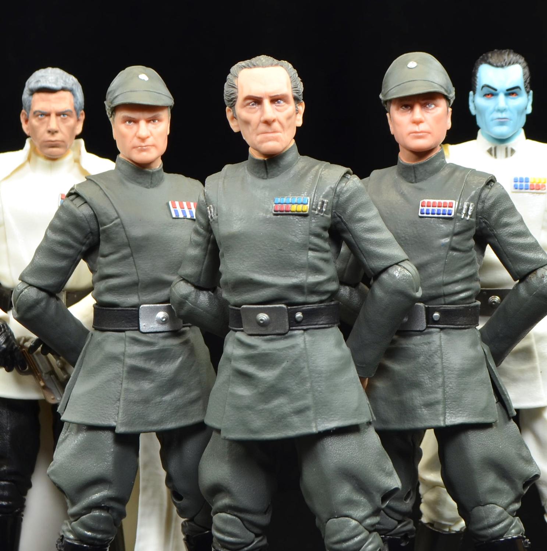 STAR WARS BLACK SERIES lot grand moff tarkin and admiral piett