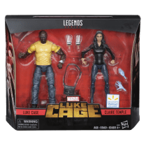 MARVEL LEGENDS SERIES 2-PACK (Luke Cage and Claire Temple)