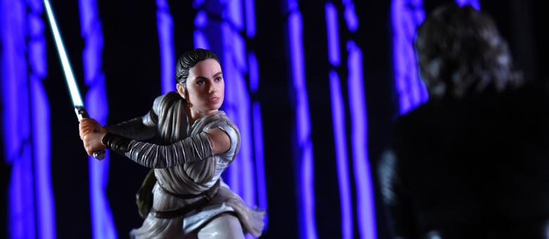 Starkiller Base LIGHTS UP-HASBRO Star Wars The Black Series Centerpiece Rey