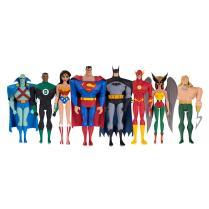 DC Universe Subscription Service Set of 8 Exclusive Justice League Animated Figures Promo 01