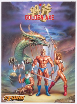 Storm Collectibles Golden Axe Announcement