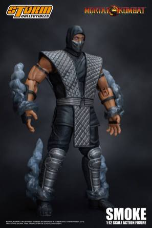 Storm Collectibles NTCC Exclusive Mortal Kombat Smoke Promo 04