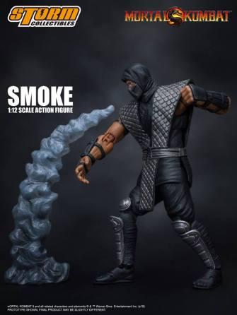 Storm Collectibles NTCC Exclusive Mortal Kombat Smoke Promo 07