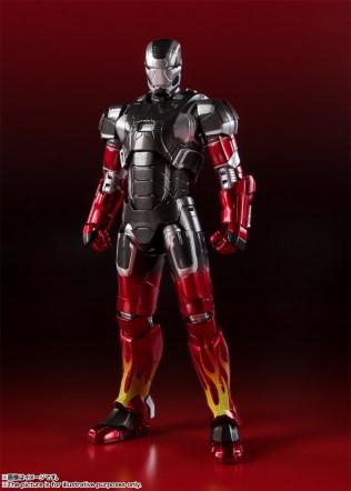 Bandai Spirits Tamashii Nations SH Figuarts Marvel Iron Man MKXXII 22 Hot Rod Promo 01