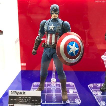 Bandai Tamashii Nations Tokyo Comic Con 2018 SH Figuarts Captain America Winter Soldier Classic Suit 01