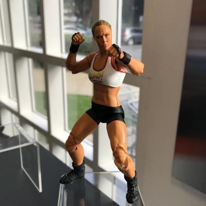 Mattel WWE Ultimate Edition Ronda Rousey Prototype 01
