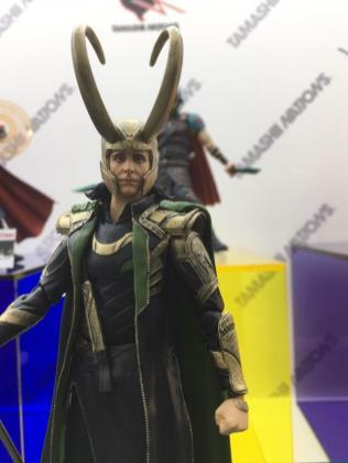 Tokyo Comic Con Bandai SH Figuarts Marvel Avengers Loki 01