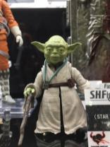 Tokyo Comic Con Bandai SH Figuarts Star Wars Empire Strikes Back Yoda 01