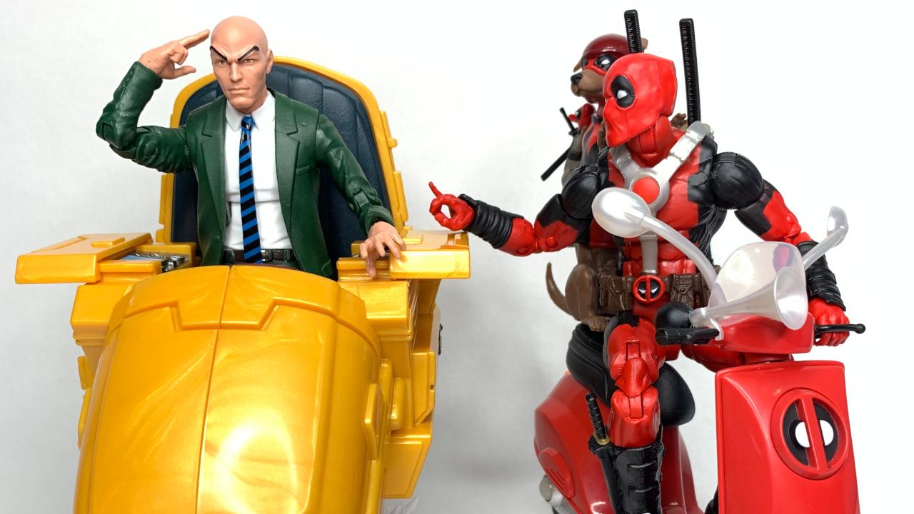 Marvel Legends Deadpool Corps with Scooter Hasbro Read Description