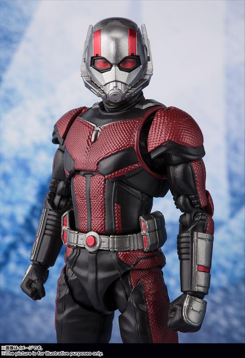 Bandai Tamashii Nations SH Figuarts Avengers Endgame Ant-Man promo 05