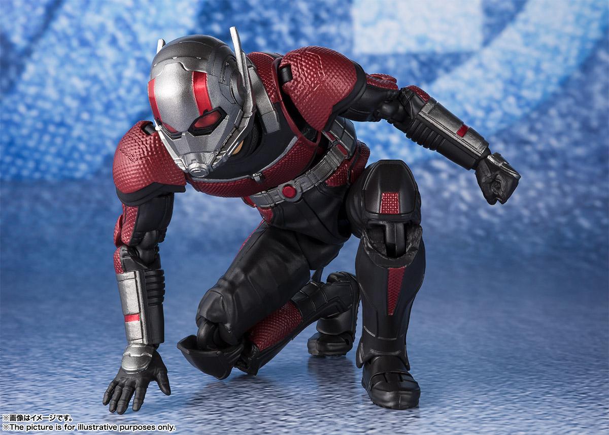 Bandai Tamashii Nations SH Figuarts Avengers Endgame Ant-Man promo 06