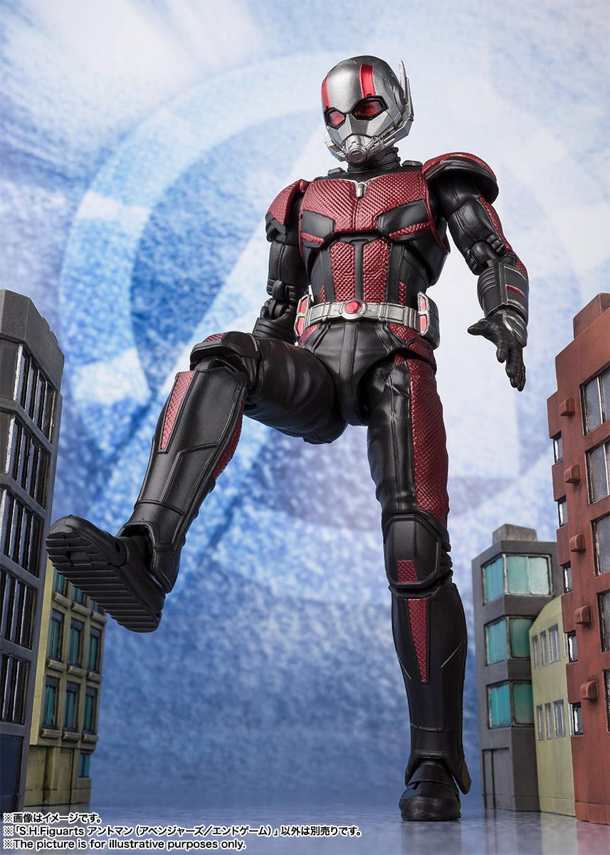Bandai Tamashii Nations SH Figuarts Avengers Endgame Ant-Man promo 08