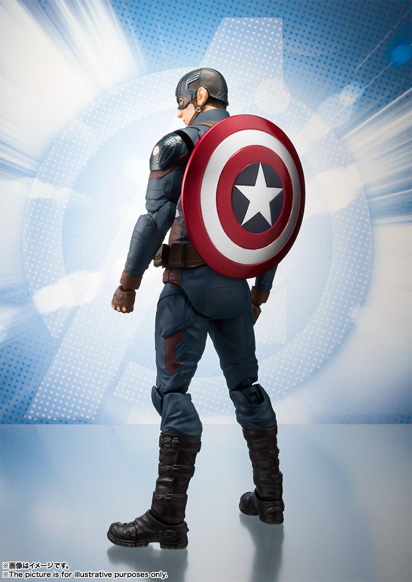 Bandai Tamashii Nations SH Figuarts Avengers Endgame Captain America promo 02