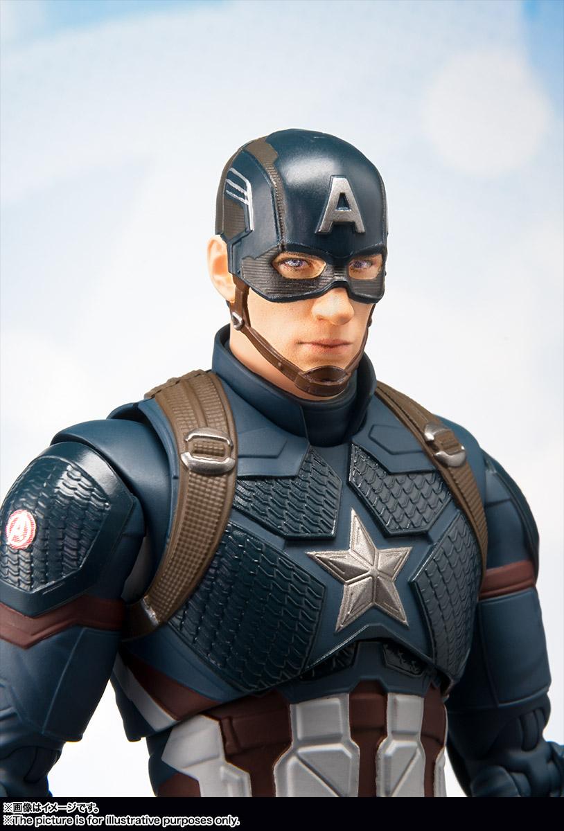 Bandai Tamashii Nations SH Figuarts Avengers Endgame Captain America promo 08