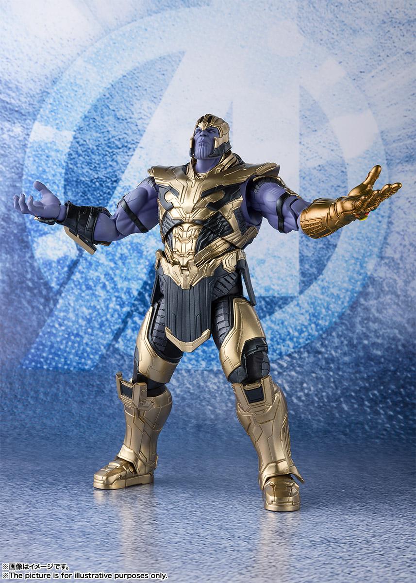 Bandai Tamashii Nations SH Figuarts Avengers Endgame Thanos promo 04