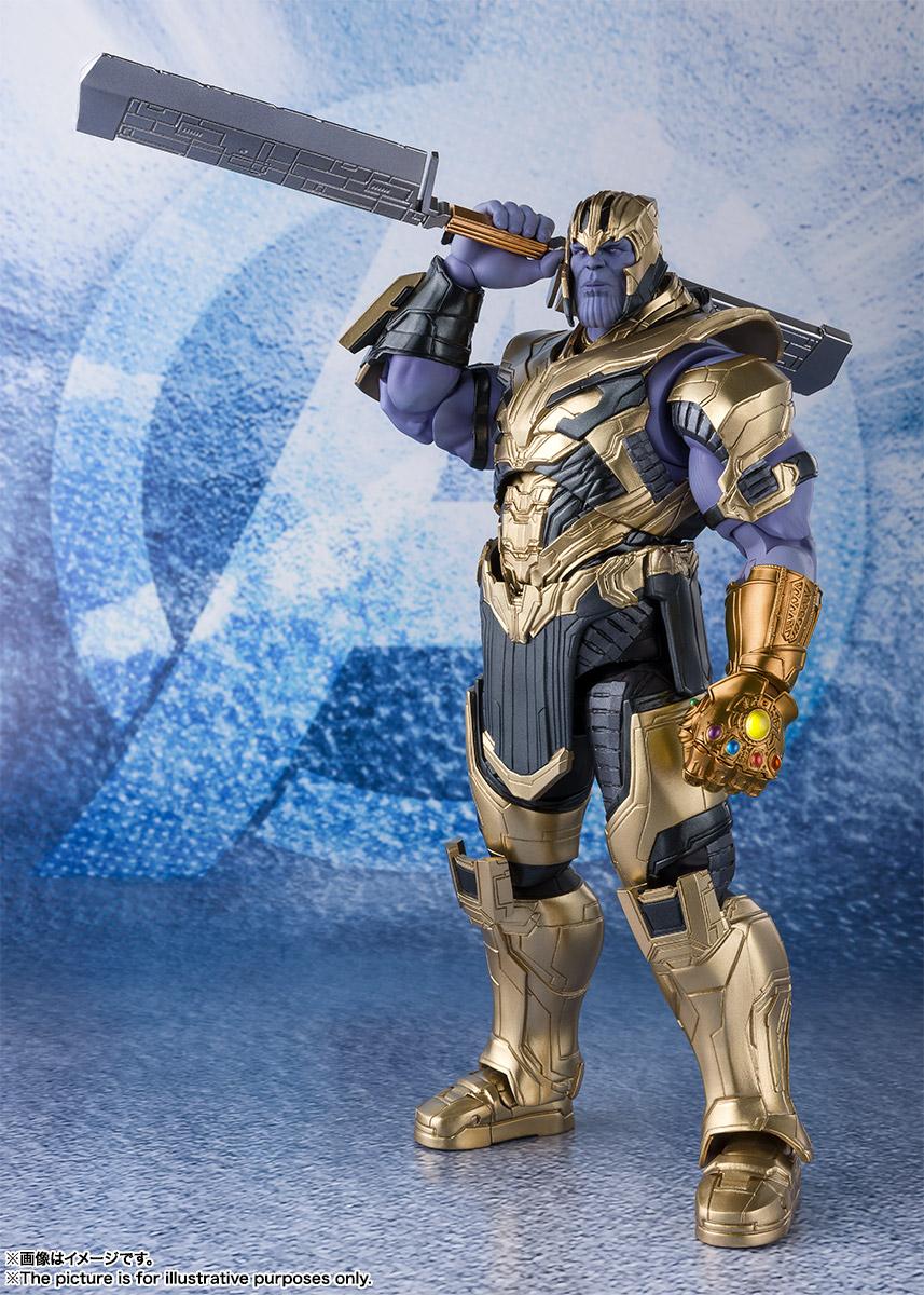 Bandai Tamashii Nations SH Figuarts Avengers Endgame Thanos promo 06