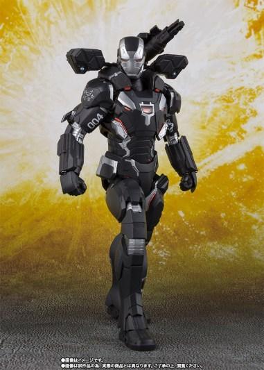 Bandai Tamashii Nations SH Figuarts Avengers Endgame War Machine Mark 4 promo 01