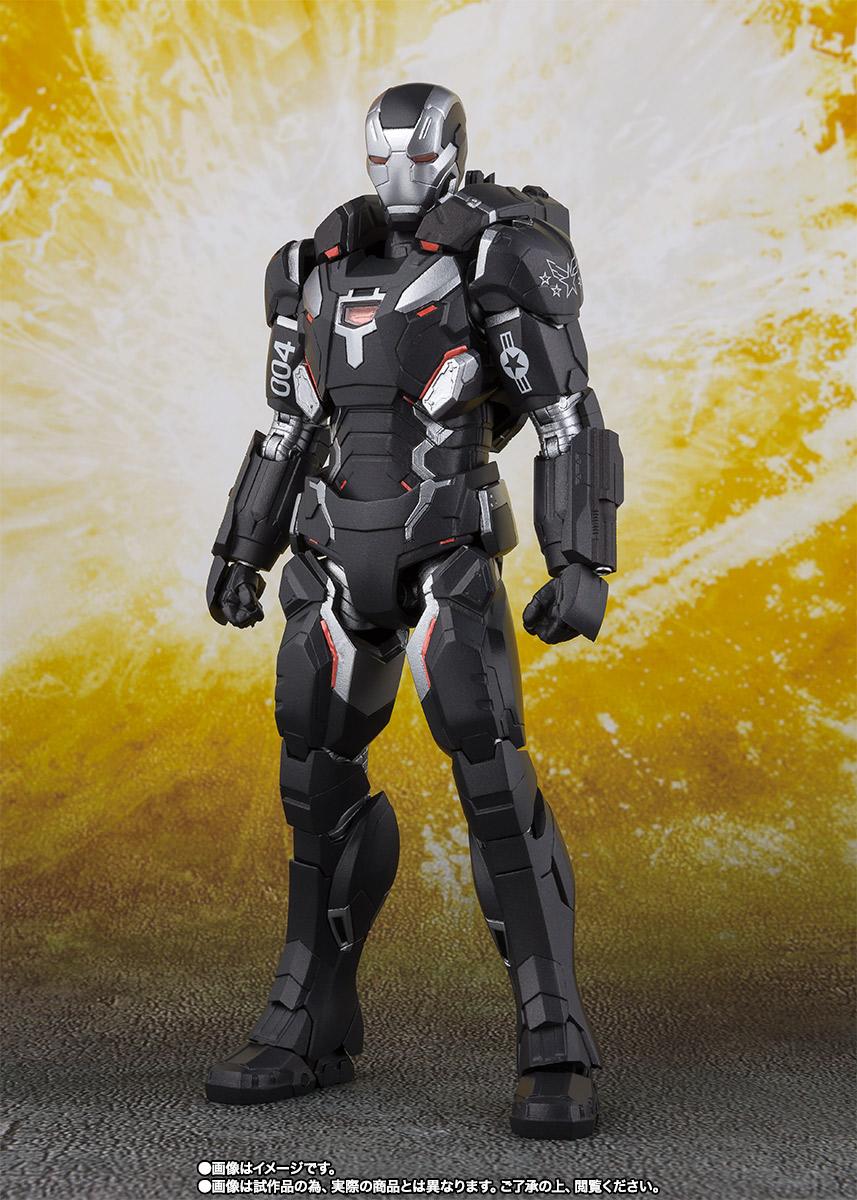 Bandai Tamashii Nations SH Figuarts Avengers Endgame War Machine Mark 4 promo 06