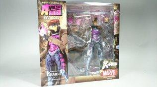 Kaiyodo Amazing Yamaguchi Revoltech Katsuhisa Twitter Marvel X-Men Gambit Package Teaser 01