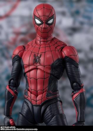Bandai SH Figuarts Far From Home Upgrade Spider-Man Promo 12