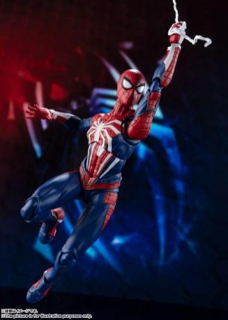Bandai SH Figuarts Playstation 4 Spider-Man Promo 07
