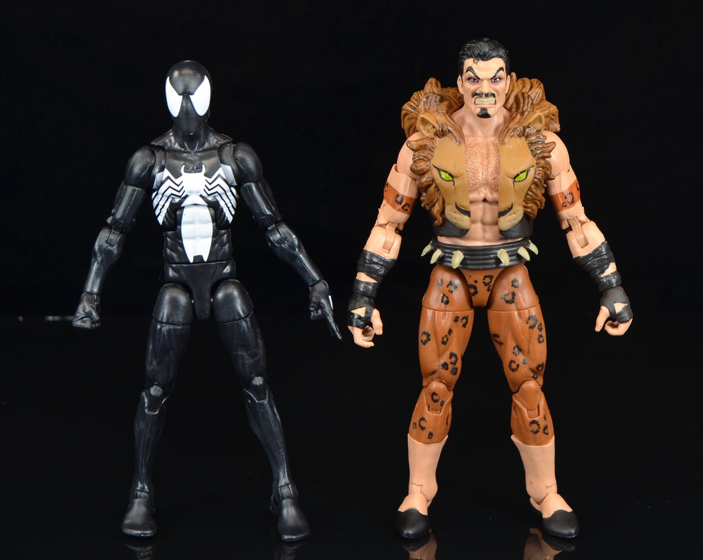 MARVEL LEGENDS SPIDER-MAN KRAVEN 2 PACK TARGET EXCLUSIVE NIB MIB SEALED HASBRO