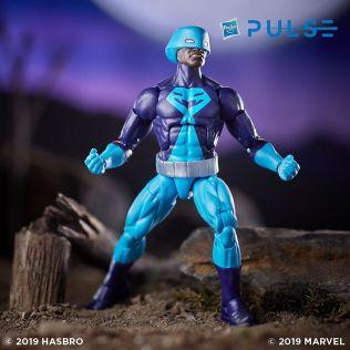 Hasbro Pulse Marvel Legends Avengers Endgame Wave 2 Series 6-inch Rock Python Figure