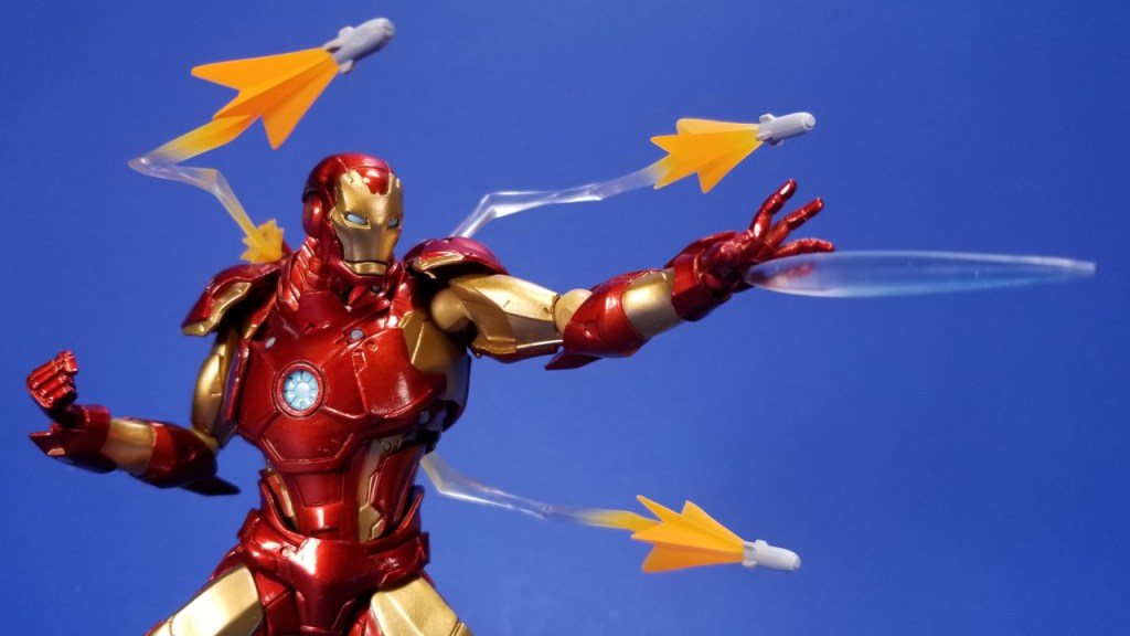 Kaiyodo Amazing Yamaguchi Bleeding Edge Iron Man Video Review And Quick Pics Fwoosh