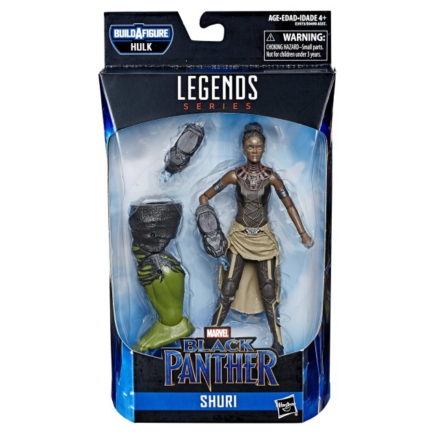 Marvel Legends Avengers Endgame Wave 2 Series 6-Inch Shuri Figure 03